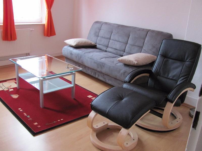 Wohnen auf Zeit Apartment <br>ruhig, zenral<br>Rheinstr. 66<br>54 m2<br>Hofseite